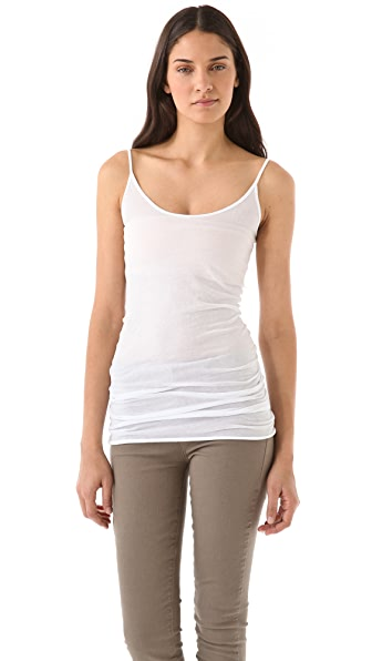 Enza Costa Tunic Layer Tank