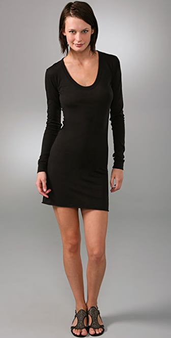 Enza Costa Bold Long Sleeve Dress
