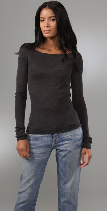 Enza Costa Cashmere Sweater