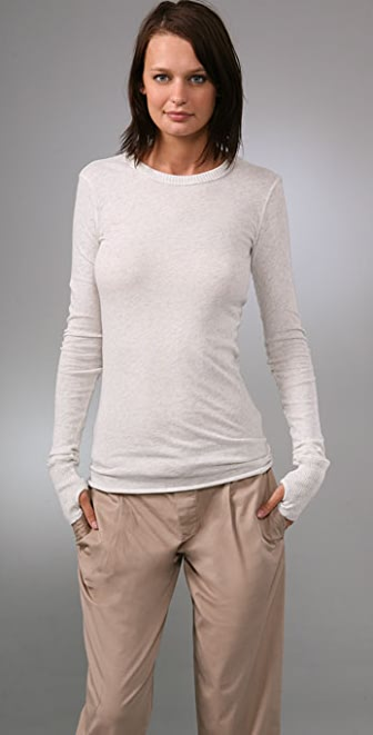 Enza Costa Crew Neck Sweater
