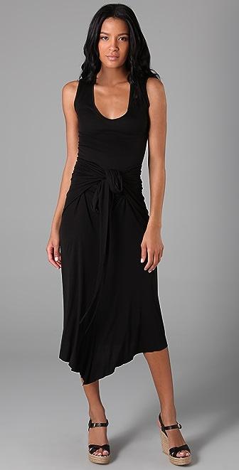 Enza Costa Tie Twist Long Dress