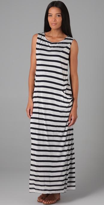 Enza Costa Sleeveless Pocket Dress