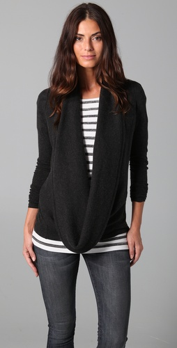 Enza Costa Cowl Neck Top