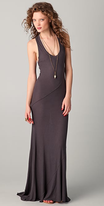 Enza Costa Silk Rib Twist Dress