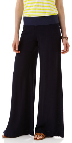 Enza Costa Challis Wide Leg Pants