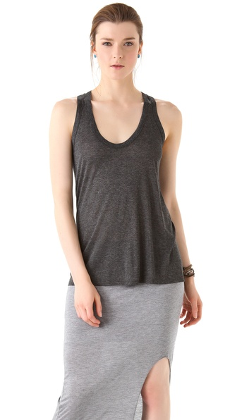 Enza Costa Loose Racer Tank