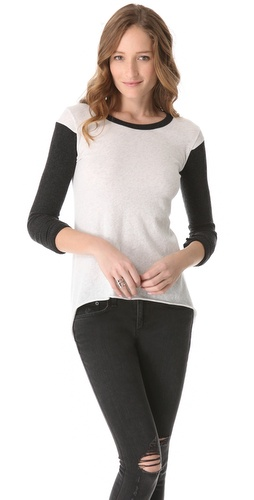 Shop Enza Costa Hi Lo Sweater and Enza Costa online - Apparel,Womens,Sweaters,Pull_Over, online Store