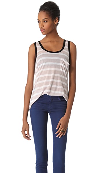 Enza Costa Pocket Racer Tank