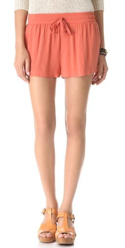 Enza Costa Drawstring Shorts
