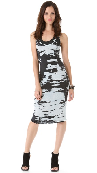 Enza Costa Doubled Racer Dress