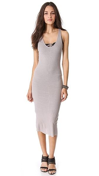 Enza Costa Rib U Tank Dress