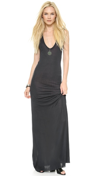 Enza Costa Sleeveless U Maxi Dress