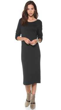 Enza Costa Raglan Dress