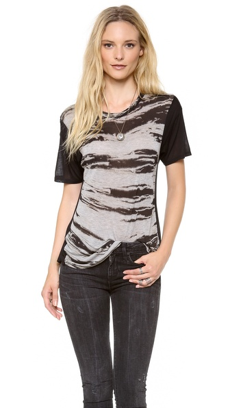 Enza Costa Costae Short Sleeve Tee