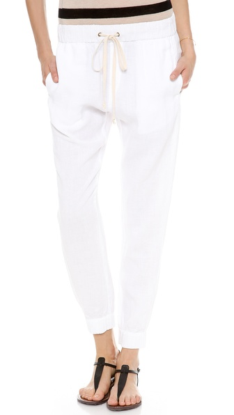 Enza Costa Linen Lounge Pants