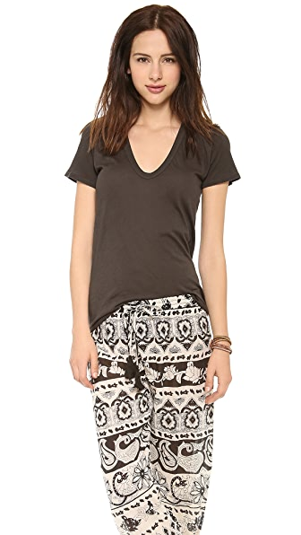Enza Costa Loose U Tee