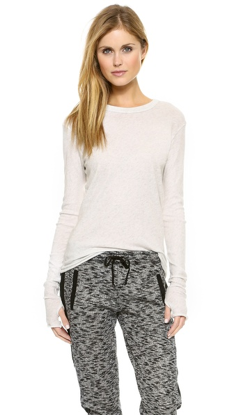 Enza Costa Loose Crew Neck Tee