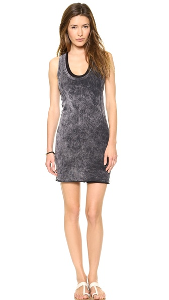 Enza Costa Bold Racer Mini Dress