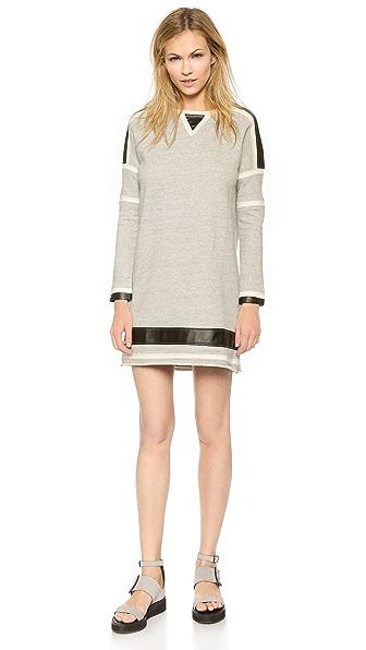 Kupi ElevenParis haljinu online i raspordaja za kupiti Elevenparis Neel Sweatshirt Dress Grey Chine online
