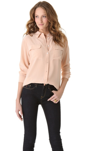Equipment Signature Blouse