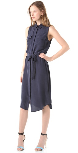 Equipment Tegan Midi Dress