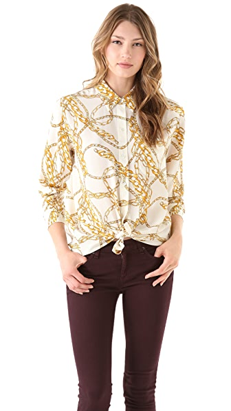 Equipment Daddy Antonia Scarf Blouse