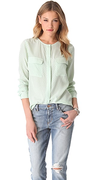 Equipment Lynn Dewdrops Blouse