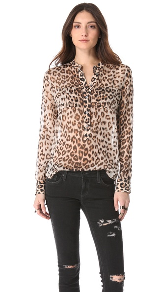 Equipment Ava Henley Blouse