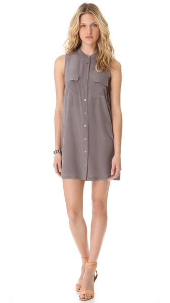 Equipment Pocket Shirtdress