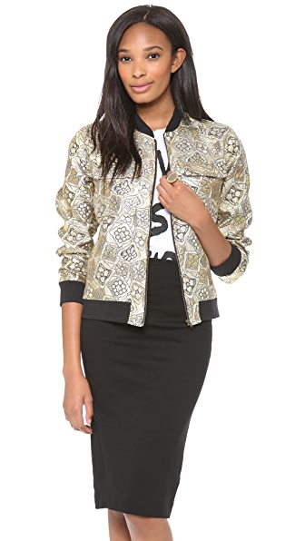 Equipment Abbot Bomber With Contrast
