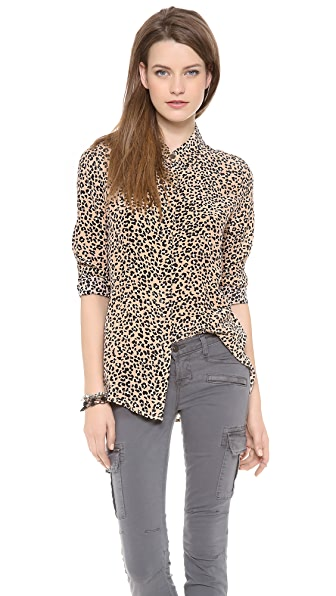 Equipment Long Sleeve Earl Blouse