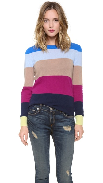 Equipment Shane Cashmere Crew Neck Sweater