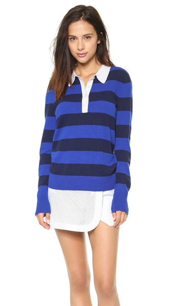 Equipment Deandra Polo Sweater