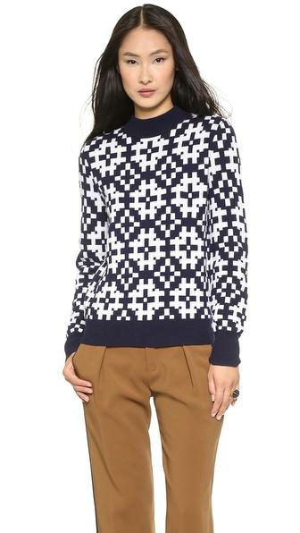 Equipment Tayden Mock Neck Sweater