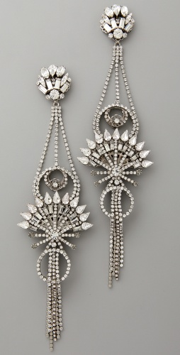 Erickson Beamon China Club Earrings