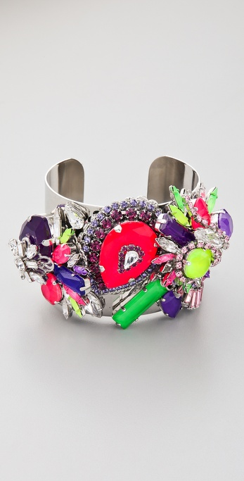 Erickson Beamon Color Me Crazy Bracelet