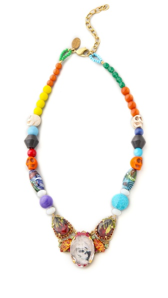 Erickson Beamon Eccentric Lady Land Necklace