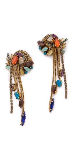 Erickson Beamon Rear Window Earrings