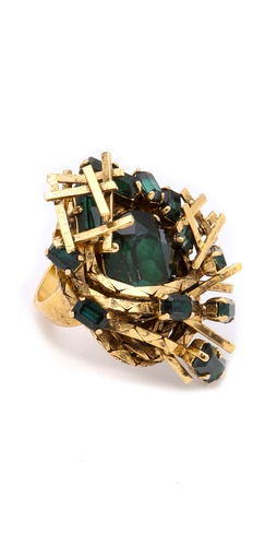Erickson Beamon Family Jewels Ring