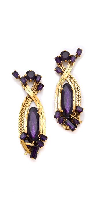 Erickson Beamon Family Jewels Earrings