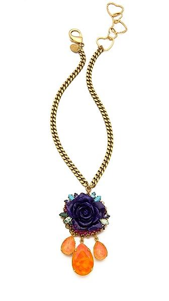 Erickson Beamon Rose Garden Necklace