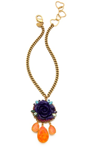 Erickson Beamon Rose Garden Necklace