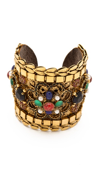 Erickson Beamon Byzantium Cuff