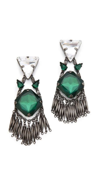Erickson Beamon Sporty Forties Earrings