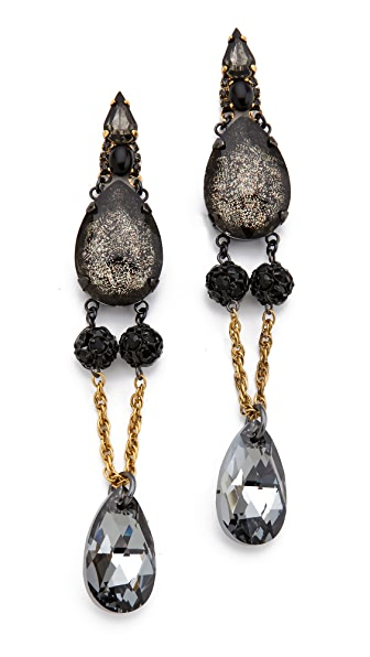 Erickson Beamon Blue Nile Drop Earrings