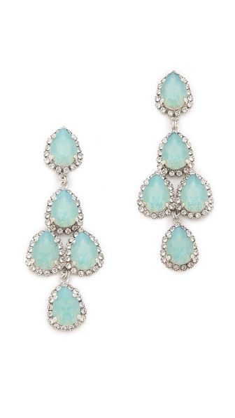 Erickson Beamon Duchess of Fabulous Earrings