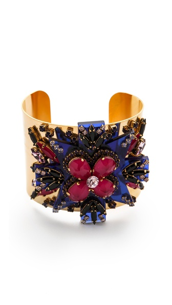 Erickson Beamon Girls On Film Cuff Bracelet
