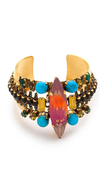 Erickson Beamon Aquarella Do Brasil Cuff Bracelet