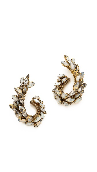 Erickson Beamon Whiter Shade Of Pale Earrings