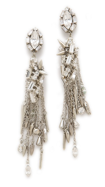 Erickson Beamon The Shining Crystal Drop Earrings